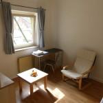 Die Zimmer sind unterschiedlich groß, aber ähnlich ausgestattet.